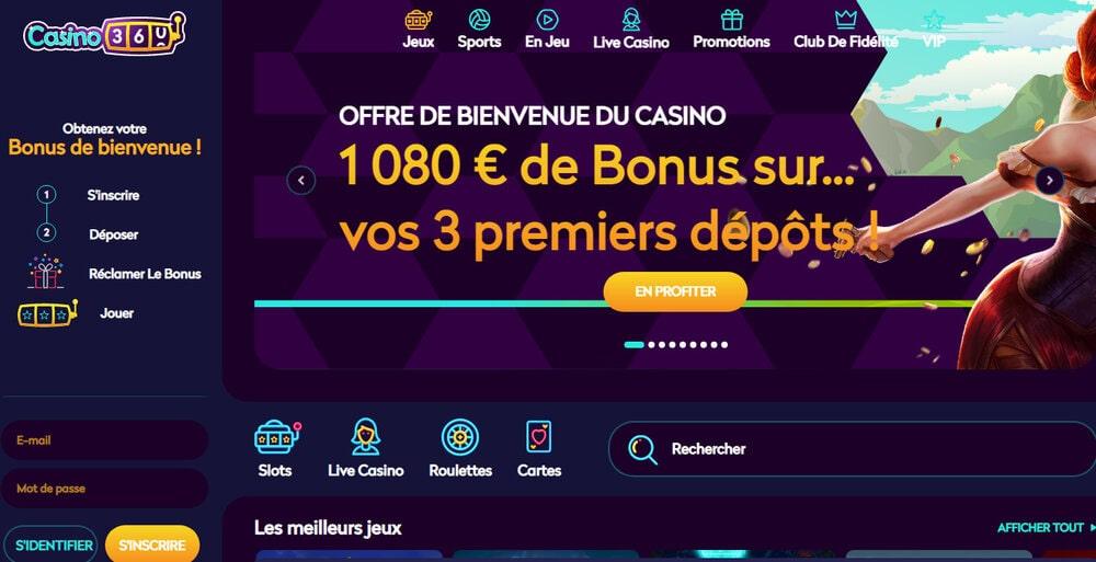 Casino360 sur Avis.Casino