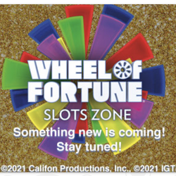 Plaza Hotel & Casino di Las Vegas memiliki seluruh ruang yang disediakan untuk slot Wheel of Fortune