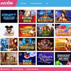 armada besar slot online gratis di Evolve Casino