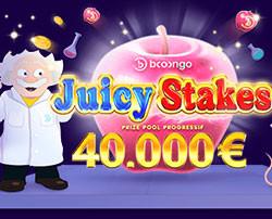 Tournoi de machines à sous Juicy Stakes sur Madnix Casino