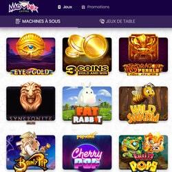 Lebih dari 1500 mesin slot gratis di Madnix dapat diakses dengan satu klik