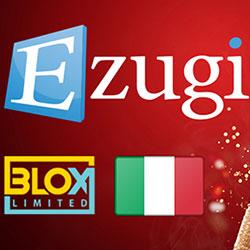 Kemitraan antara Ezugi dan Blox Limited