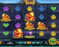 machine à sous Fire Toad disponible sur Cresus Casino