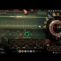 Roda roulette langsung dari kasino nyata kembali ke kasino online