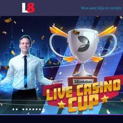 Turnamen Piala Kasino Langsung di game Evolution di kasino Lucky8