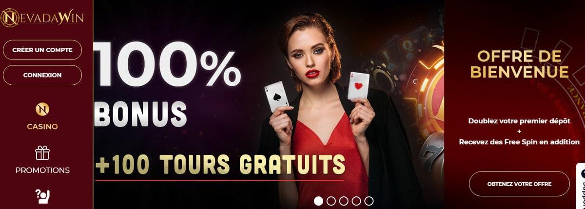 Avis Casino vous dit tout sur le nouveau casino en ligne français NevadaWin