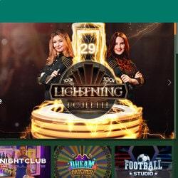 Les types de roulettes en live de Cresus Casino avec croupiers en direct de casinos et studios
