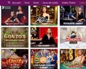 Magical Spin est un casino leader de jeux avec croupiers en direct