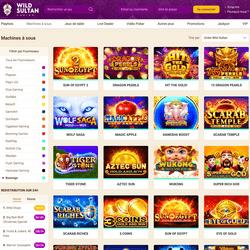 Kasino online Wild Sultan menawarkan turnamen slot Boongo